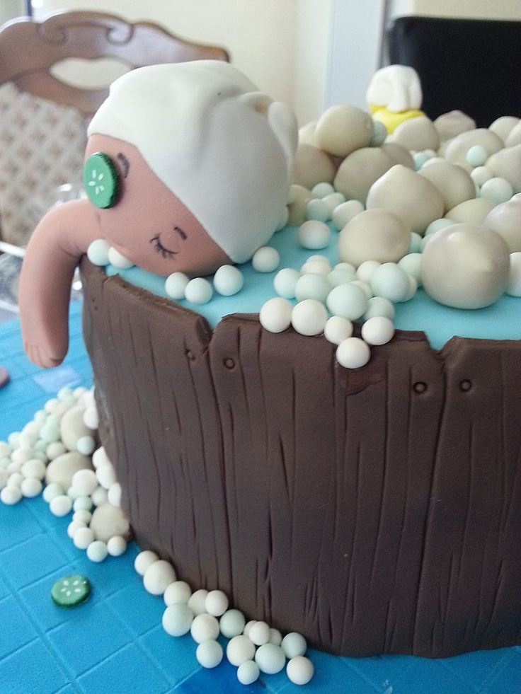 Spa Wellness Motivtorte *Spa Cake*