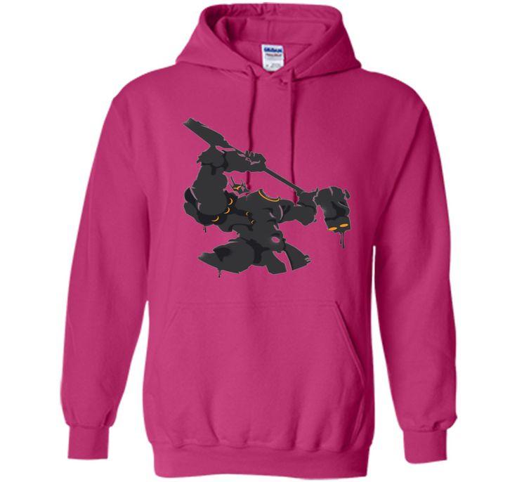 Overwatch Reinhardt Hammer Down Spray Tee Shirt