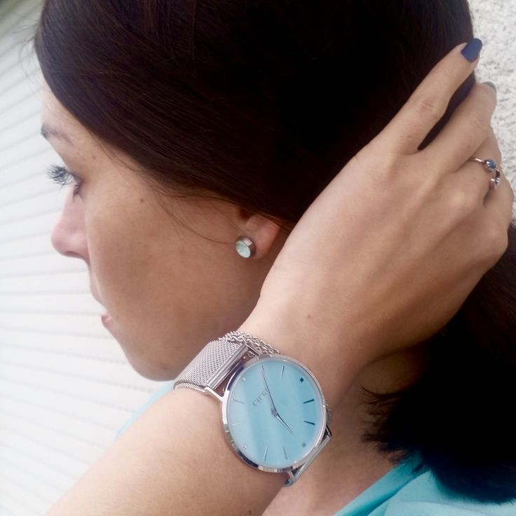 Beautiful blue watch for any style