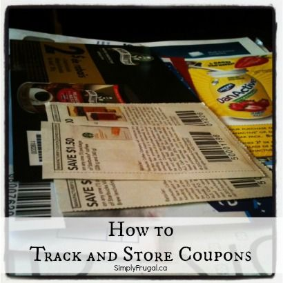 How to Track and Store Coupons