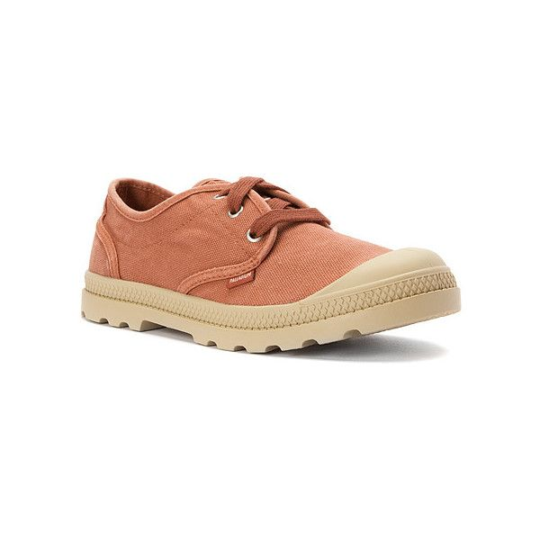 Palladium Pampa Oxford LP Shoes ($60) ❤ liked on Polyvore featuring shoes, oxfords, palladium shoes, oxford shoes and palladium footwear
