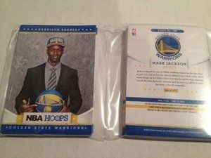 2012-13 NBA Hoops Golden State Warriors Team Set 14 Cards Mint by Panini. $4.94. Mint condition cards from a broken up case. You get every card of the listed team in title from the 300 card base set, does NOT include the short prints. That means you get the following cards (this is a full and complete list):179- Andrew Bogut 180- Stephen Curry 181- David Lee 182- Dorell Wright 183- Nate Robinson 184- Brandon Rush 185- Richard Jefferson 186- Mark Jackson 232- Kla...