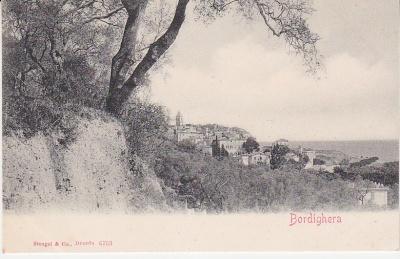 Stengel & Co Postcard - Bordighera - 6753 c1907