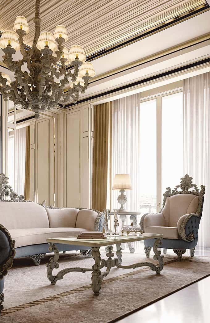 Classic Wood Dining Room Handmade Luxury Furniture Luxury