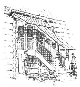 Основные типы крестьянских дворов и изб | Деревянная архитектура и деревообработка