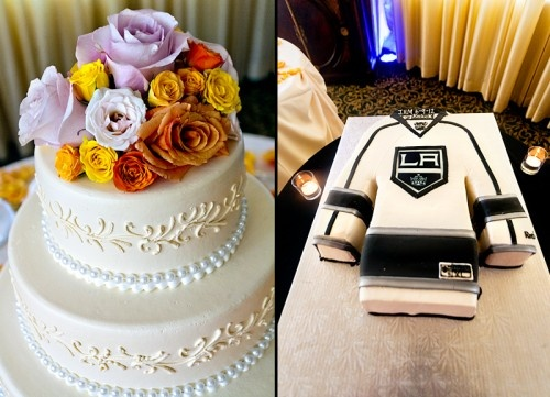 hockey themed wedding cakes hockey groom s wedding cake hockey themed wedding ideas 15261