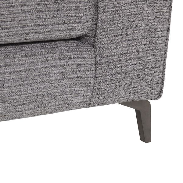 Grey Fabric Sofas Corner Sofa Right Hand Cube Range Oak Furnitureland Grey Fabric Corner Sofa Fabric Sofa Leather Sofa