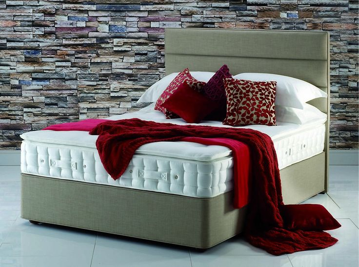 Hypnos Pillow Top Emerald Super King Size Divan Bed for £1,728.00