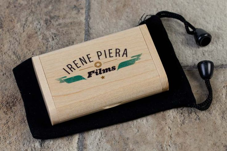 The wooden flip boxes fit perfectly into our black velvet pouches