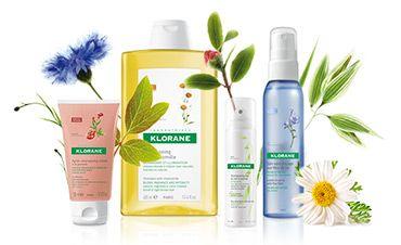Klorane is bekend omwille van zijn verzorgingsproducten op basis van planten. De formules worden uitvoerig getest en zijn hypoallergenisch, al 40 jaar lang. Het gamma bestaat uit verzorgingsproducten voor de haar, de huid en de verzorging van je baby.