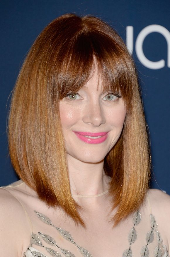 Hairstyle I want! Bryce Dallas Howard - Jurassic World New Hairstyle ...