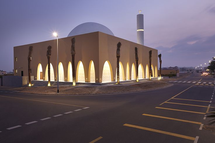 ibda design completes contemporary mosque in dubai