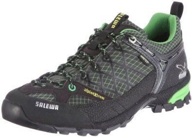 Salewa Men's Firetail GTX Approach Shoe Salewa. $86.64. Shoe Material-waterproof ✔. Shoe Material-Sole Type: Vibram soles. Manmade. Vibram sole. Season-season: Whole Year Product. Walking shoe-Type: approach shoes. Walking shoe-Category: hiking boots