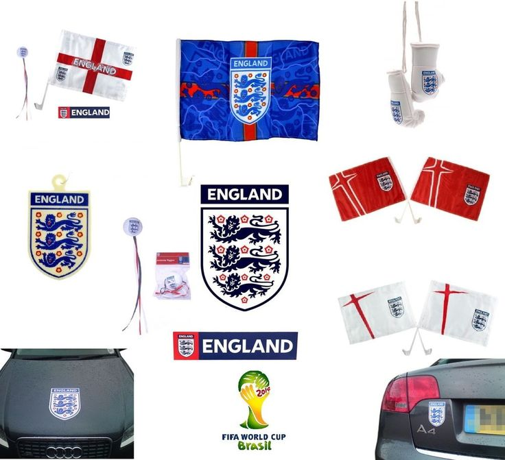 ENGLAND Football  - CAR FLAGS - Official FIFA WORLD CUP & UEFA EURO Merchandise  | eBay