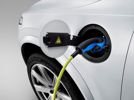 The all-new Volvo XC90 - Charging