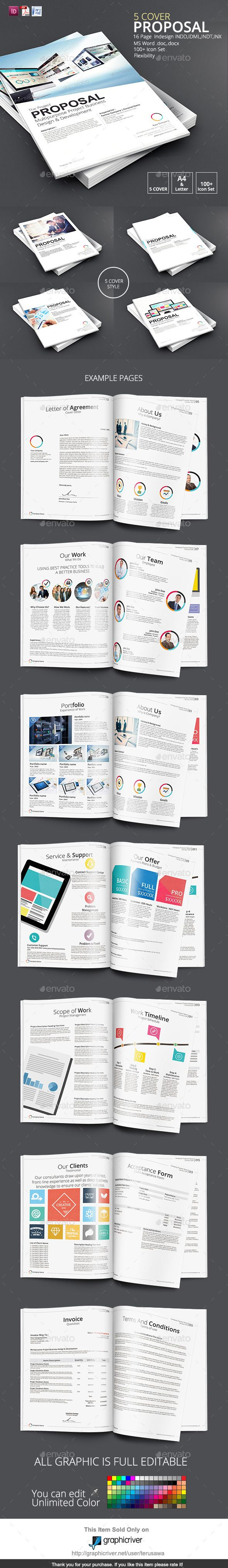 5 Cover Proposal Template 122 best Business