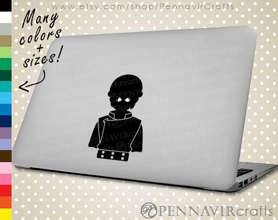 Toph Decal - Avatar the Last Airbender Decal, available in Macbook size! www.PennavirCrafts.com