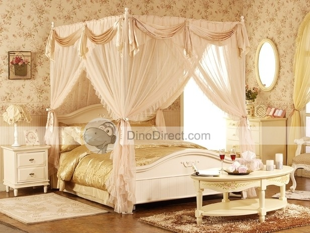 4 Post Bed Curtains 117 best 4 poster beds images on pinterest | bedrooms, beautiful