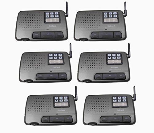 6 channel 6 station digital fm wireless intercom system for home office shop generic new. Black Bedroom Furniture Sets. Home Design Ideas