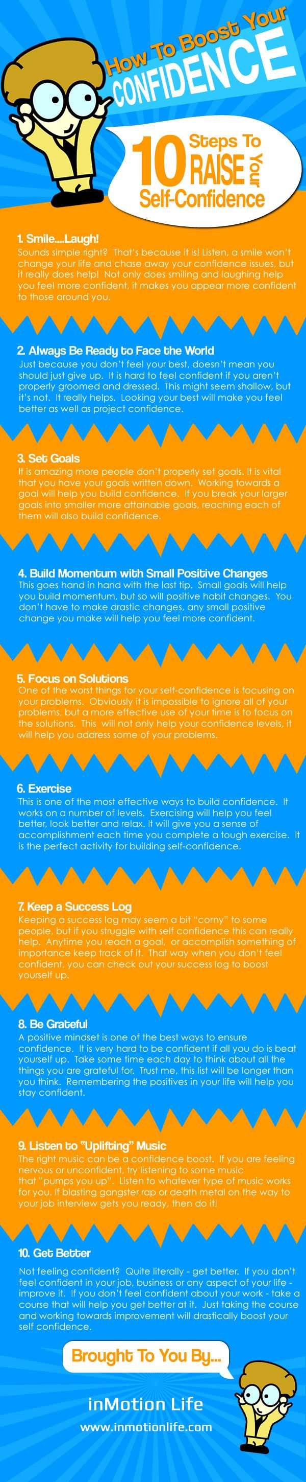 How to Boost Your Confidence [Infographic]