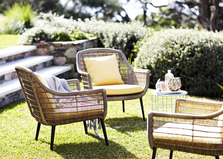 AUSTRALIAN HOUSE U0026 GARDEN Batu Armchairs In Tan All Weather Rattan Part 34