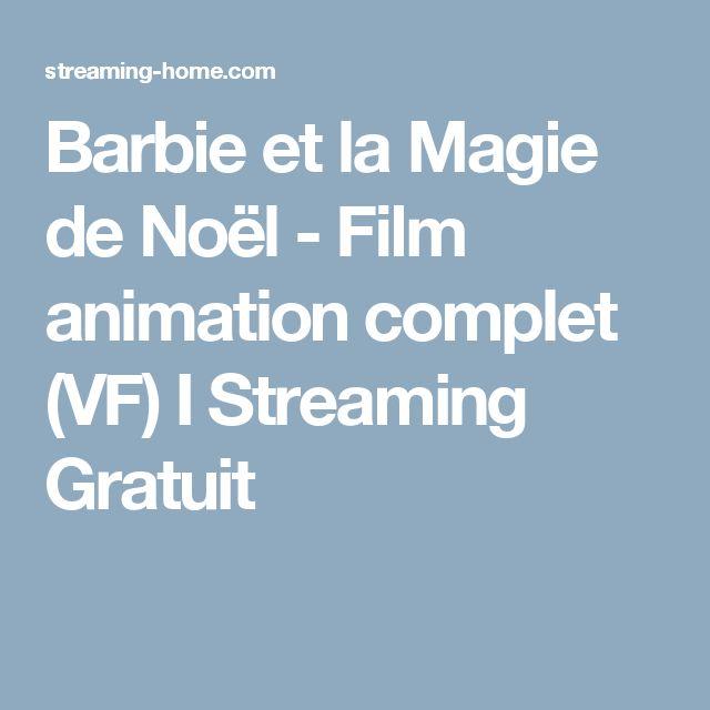 Barbie et la Magie de Noël - Film animation complet (VF) I Streaming Gratuit