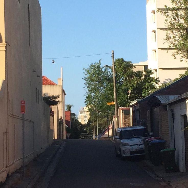 Light and shadow play on lanes in Bondi Junction Sydney - #lightandshadowplayonlanes #light #shadow #lane #Sydney #BondiJunction #garbagebin #garbagebins #rubbishbin #rubbishbins