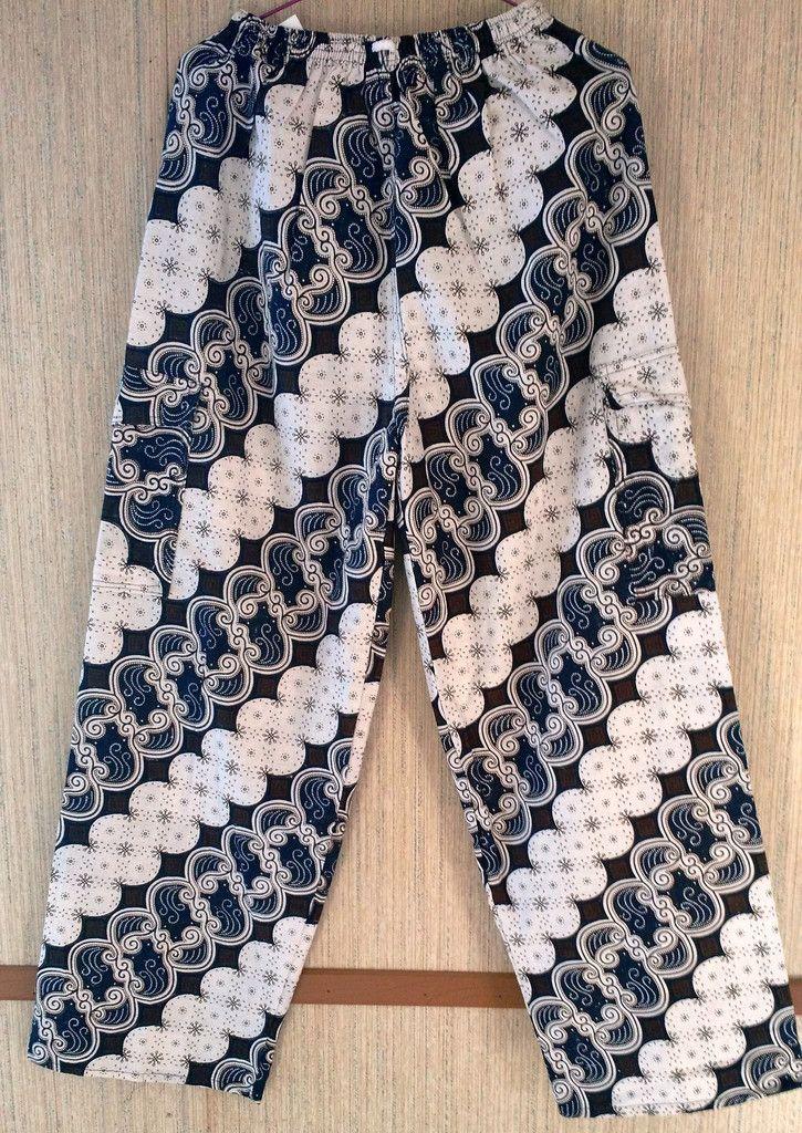 Batik Long Pants  $18 Size : M