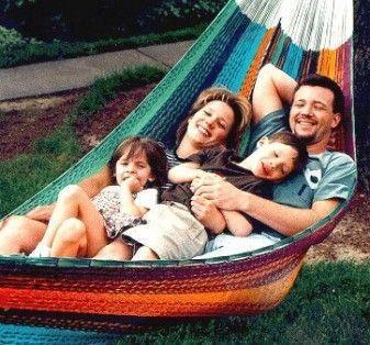 Family Mayan Hammock - Multi Colored