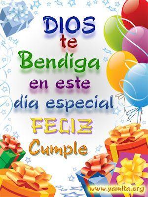 Dios te bendiga en este día especial feliz cumpleaños Lorena, un abrazo con mucho cariño pasatela súper lindo!!!