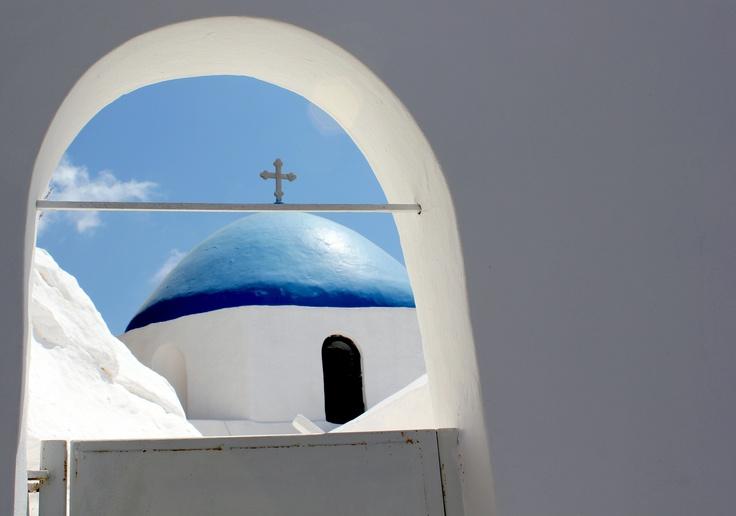 church detail..@ Ios #Cyclades #Greece
