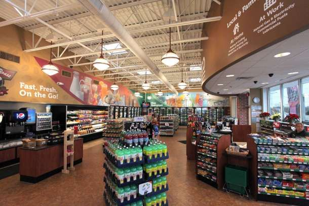 Inside Best Interior Design Winner, NOCO Express   Store Ops   Convenience  Store News | Convenience Stores | Pinterest | Express Store, Convenience  Store ...