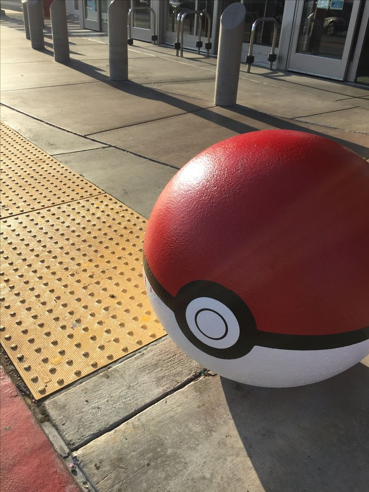 Let's play Pokemon Go the latest Pokemon game at your local Target. Graffiti Pokeballs are showing up at Targets that happen to Pokestops . Pokemon Go fans are legit!