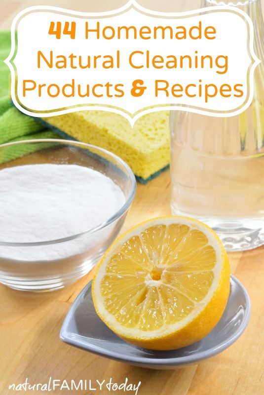 44 homemade natural cleaning products recipes a permanent health. Black Bedroom Furniture Sets. Home Design Ideas