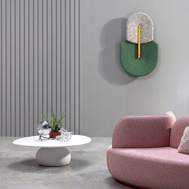 Starting from the need to resolve the uncomfortable problem of background noise @sancal & @mut_design overcome the difficult balance between sound dissipation and decoration with sculpture-like sound-absorbing panels that oversize the perfect specimen of a #beetle. #archiproducts #sancal #design
