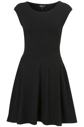 Cap Sleeve Flippy Tunic - Dresses  - topshop