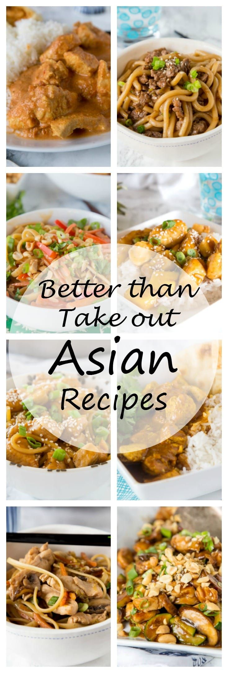 Better Than Take Out Asian Recipes - 29 Asian recipes that taste better, are better for you, and most likely quicker than take out. Put the menu down, and whip up one of these for dinner tonight!