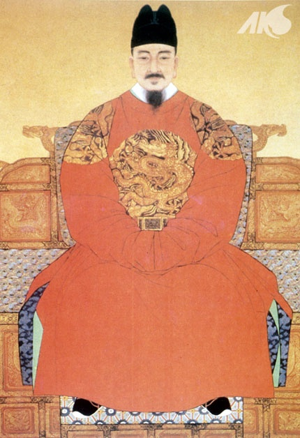 [Middle Ages-Joseon] Portrait of Sejong, 4th king of Joseon and creator of the Korean alphabet 'Hangul'