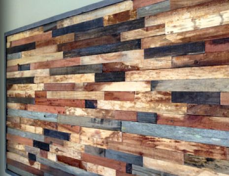 45 best painted wood walls and trim images on pinterest - Reclaimed wood for interior walls ...