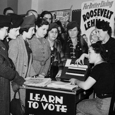 Право голоса на выборах для женщин вводилось разными странами на протяжении всего ХХ века. В каком году женщины в Саудовской Аравии получили право голоса? в 2015.