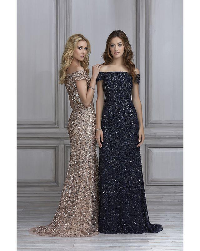 Qué hermosos vestidos para un matrimonio de noche pero también para la  fiesta de  AñoNuevo  b5034544c141