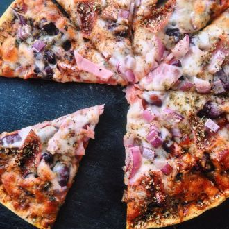 Smart og mager lørdagspizza til én - Vektklubb