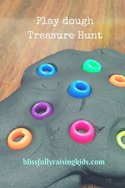 quick treasure hunt idea for quiet time