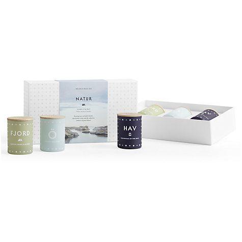 Buy SKANDINAVISK Nature Mini Candle Gift Set, Set of 3 Online at johnlewis.com