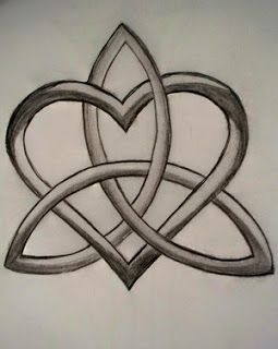 eternity HEART knot tattoo designs | All Heart Tattoo: Heart Tattoos With Image Heart Tattoo Designs ...