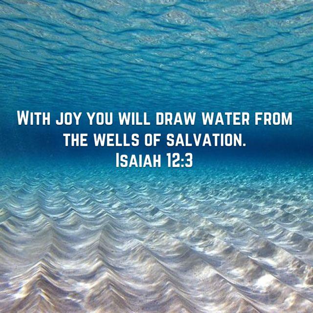 Isaiah 12:3