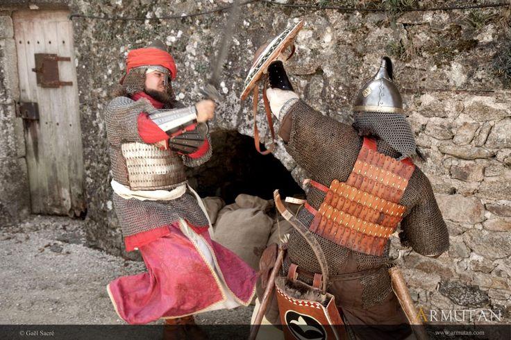 ©#armutan ©#gaelsacré #alandalus #combat #escrimemédiévale #maille #armures #mamelouk