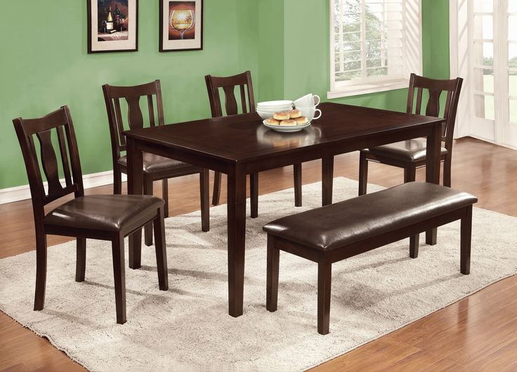 Lawson Transitional 6-Piece Dining Set
