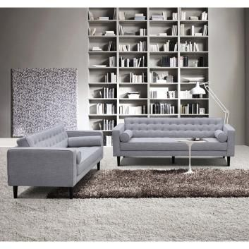 2 PIECE LOUNGE SUITE WITH CUSHIONS MDNFURLOU506
