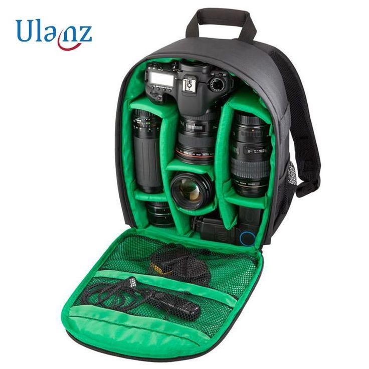 Camera Backpack DSLR SLR Camera Bag Video Padded Backpack Waterproof for Nikon Canon Sony Olympus Samsung Panasonic Pentax #Affiliate